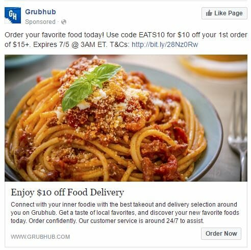 Facebook Ad Types