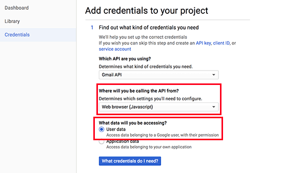 API憑證步驟1