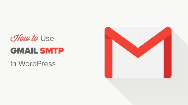 gmail smtp wp og 770x430 - 如何使用Gmail SMTP服務器在WordPress中發送電子郵件(WordPress 發送電子郵件)