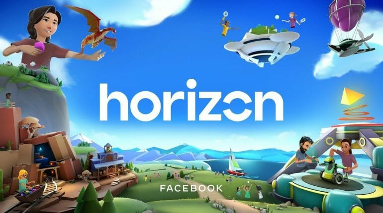 facebook horizon vr 770x430 - 2020年8月 全球社群媒體新聞